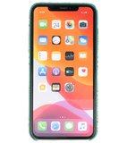 Slang Design Back Cover voor iPhone 11 Pro Max Groen_