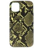 Slang Design Back Cover voor iPhone 11 Donker Groen_