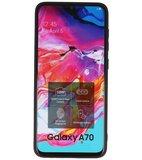Bestcases Luipaard Leer Back Cover Telefoonhoesje Samsung Galaxy A70_