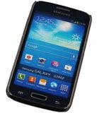 3D Hardcase met Diamant Galaxy Core G386F Blauw Roos