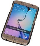 Lichte Aluminium Hardcase Hoesje voor Samsung Galaxy S6 G920F Rood_