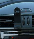 Universele Mini 1 Mobiel Luchtrooster Autohouder - Zwart