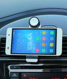 Universele Mini 1 Mobiel Luchtrooster Autohouder - Wit