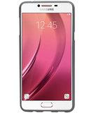 Grijs Zand TPU back case cover hoesje voor Samsung Galaxy C7