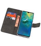 Wallet Cases Hoesje voor Huawei Mate 20 Navy_