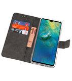 Wallet Cases Hoesje voor Huawei Mate 20 Wit_