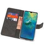 Wallet Cases Hoesje voor Huawei Mate 20 Zwart_