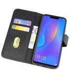 Bookstyle Wallet Cases Hoes voor Huawei P Smart 2019 Zwart_
