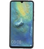 Hexagon Hard Case voor Huawei Mate 20 X Zwart_