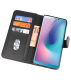 Bookstyle Wallet Cases Hoes voor Honor View 20 Zwart_