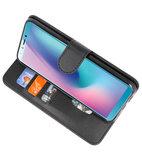 Bookstyle Wallet Cases Hoesje voor Samsung Galaxy A8s Zwart_