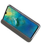 Navy Slim Folio Case voor Huawei Mate 20_