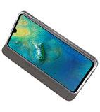 Grijs Slim Folio Case voor Huawei Mate 20_