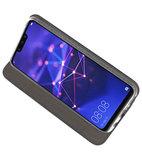 Navy Slim Folio Case voor Huawei Mate 20 Lite_