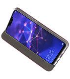 Bordeaux Rood Slim Folio Case voor Huawei Mate 20 Lite_