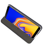 Navy Slim Folio Case voor Samsung Galaxy J4 Plus_