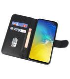 Bookstyle Wallet Cases Hoesje voor Samsung  GalaxyS10e Zwart_