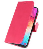 Bookstyle Wallet Cases Hoesje voor Samsung Galaxy A50 Roze_
