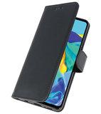 Bookstyle Wallet Cases Hoesje voor Huawei P30 Zwart_