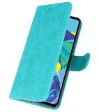 Bookstyle Wallet Cases Hoesje voor Huawei P30 Groen_