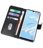 Bookstyle Wallet Cases Hoesje voor Huawei P30 Pro Zwart_