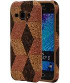 Kurk Design TPU Cover Case voor Hoesje voor Samsung Galaxy J1 2015 Model A