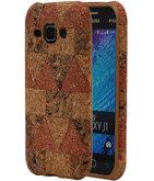 Kurk Design TPU Cover Case voor Hoesje voor Samsung Galaxy J1 2015 Model C