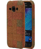 Kurk Design TPU Cover Case voor Hoesje voor Samsung Galaxy J1 2015 Model E