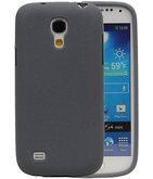 Grijs Zand TPU back case cover voor Hoesje voor Samsung Galaxy S4 mini I9190