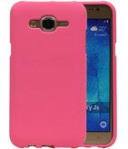Roze Zand TPU back case cover voor Hoesje voor Samsung Galaxy J5 2015