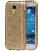 Goud Brocant TPU back case cover voor Hoesje voor Samsung Galaxy S4 Mini