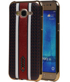 M-Cases Bruin Ruit Design TPU back case voor Hoesje voor Samsung Galaxy J5 2015