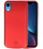 Battery Case voor iPhone XR 5000 mAh Rood