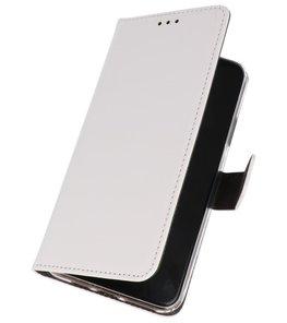 Wallet Cases Hoesje iPhone 11 Wit