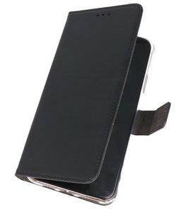 Wallet Cases Hoesje Samsung Galaxy A20s Zwart