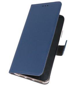 Wallet Cases Hoesje Samsung Galaxy A20s Navy