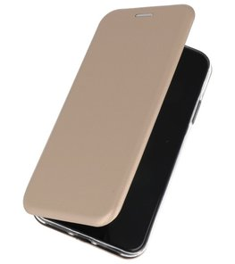 Slim Folio Case Samsung Galaxy A70s Goud