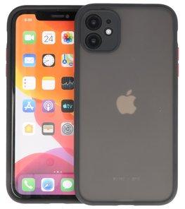 Kleurcombinatie Hard Case voor iPhone 11 Zwart