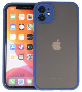 Kleurcombinatie Hard Case voor iPhone 11 Blauw