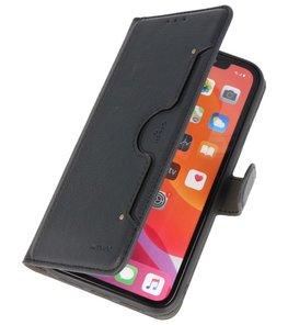Luxe Portemonnee Hoesje voor iPhone 11 Pro Max Zwart