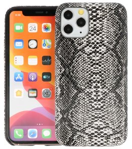 Slang Design Back Cover voor iPhone 11 Pro Zwart