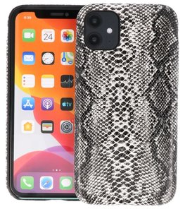 Slang Design Back Cover voor iPhone 11 Zwart