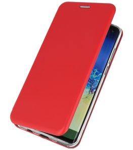 Slim Folio Case voor Huawei P30 Rood