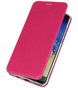 Slim Folio Case voor Huawei P30 Roze