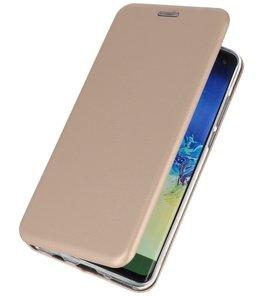 Slim Folio Case voor Huawei P30 Pro Goud
