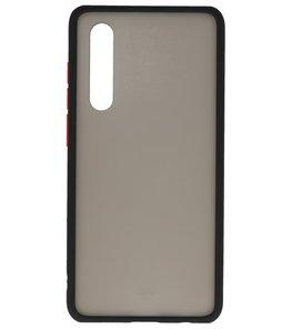 Kleurcombinatie Hard Case voor Huawei P30 Zwart