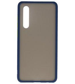 Kleurcombinatie Hard Case voor Huawei P30 Blauw