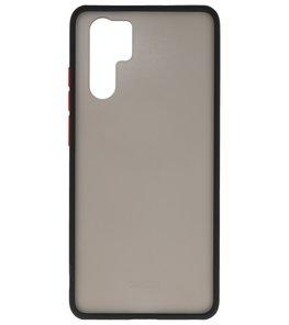 Kleurcombinatie Hard Case voor Huawei P30 Pro Zwart