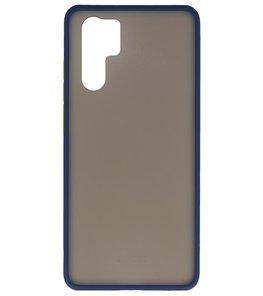 Kleurcombinatie Hard Case voor Huawei P30 Pro Blauw
