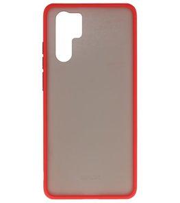 Kleurcombinatie Hard Case voor Huawei P30 Pro Rood